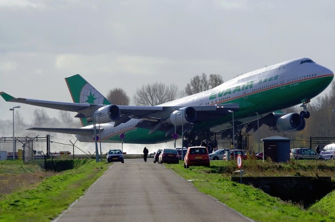 the air cargo terminal situation of